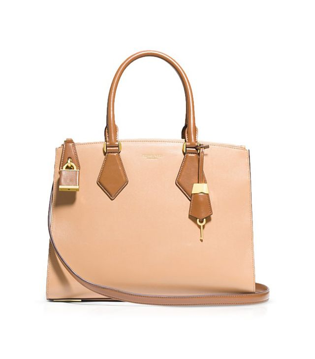 Michael Kors Casey Large Tri-Color Satchel