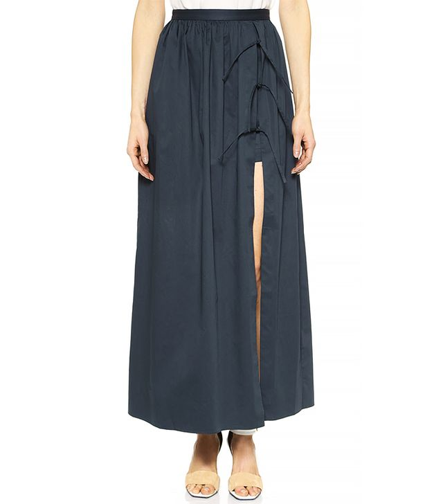 Tibi Long Skirt With Shorts