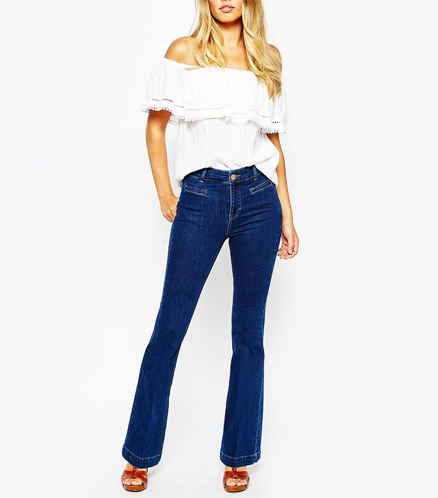 Oasis Daisy Flared Jeans