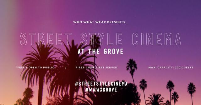 Street Style Cinema
