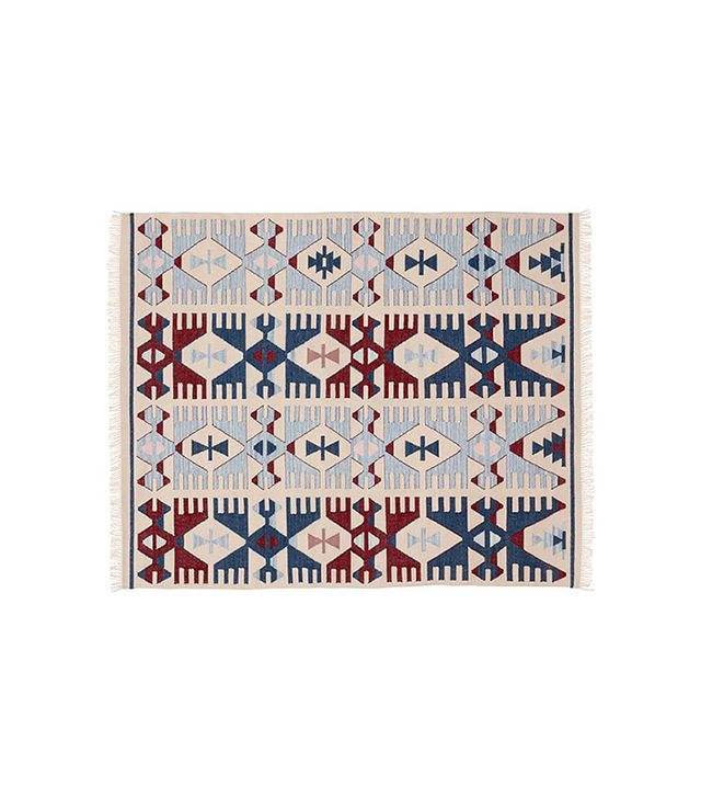 Pottery Barn Dayton Recycled Yarn Kilim Indoor/Outdoor Rug