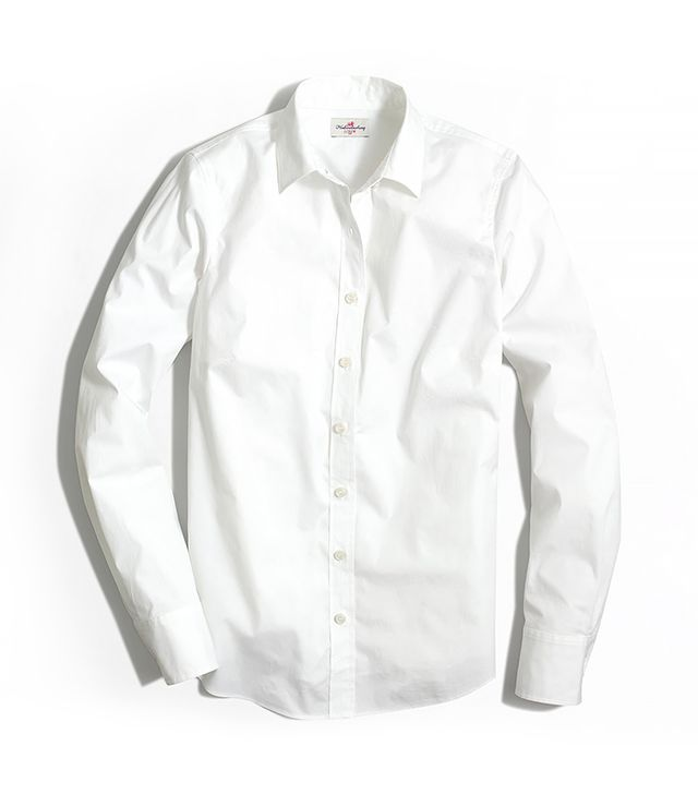 J.Crew Factory Stretch Classic Button-Down Shirt