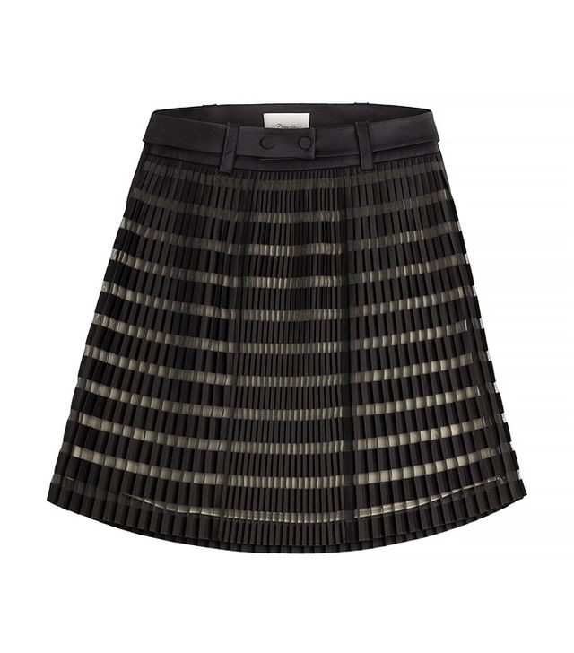 3.1 Phillip Lim Pleated Organza Skirt