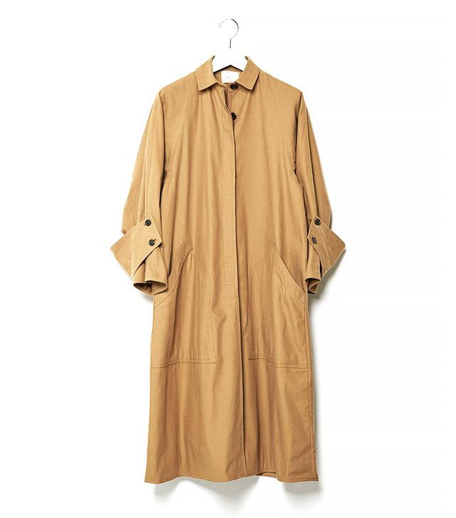 La Garçonne Modern Drafting Trench Coat