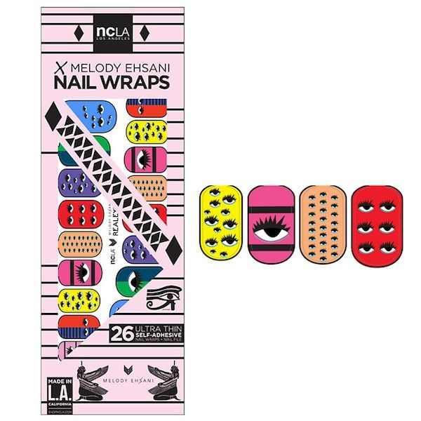 NCLA Nail Wraps in Real Eyes