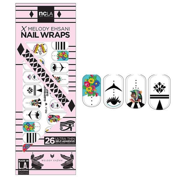 NCLA Nail Wraps in Caddyshack Cleopatra