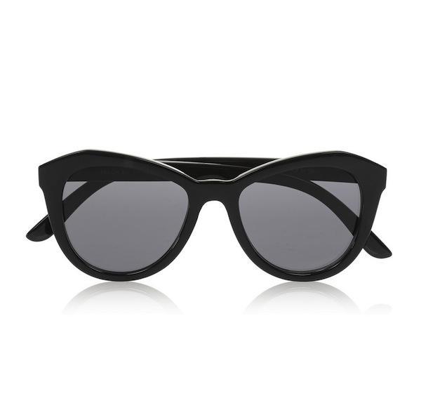 Le Specs Peach Pit Cat Eye Acetate Sunglasses