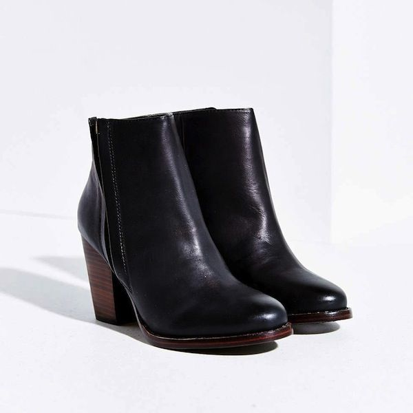Silence + Noise Half-Stacked Heeled Ankle Boot