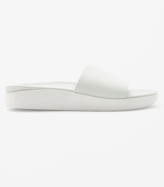 Cos Leather Slide Sandals