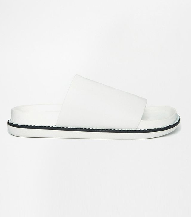Senso Kailee II Ice Leather Slide Flat Sandals