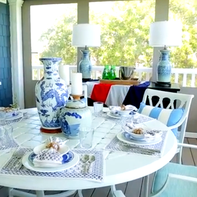 Bunny Williams' Best Tips for Outdoor Entertaining