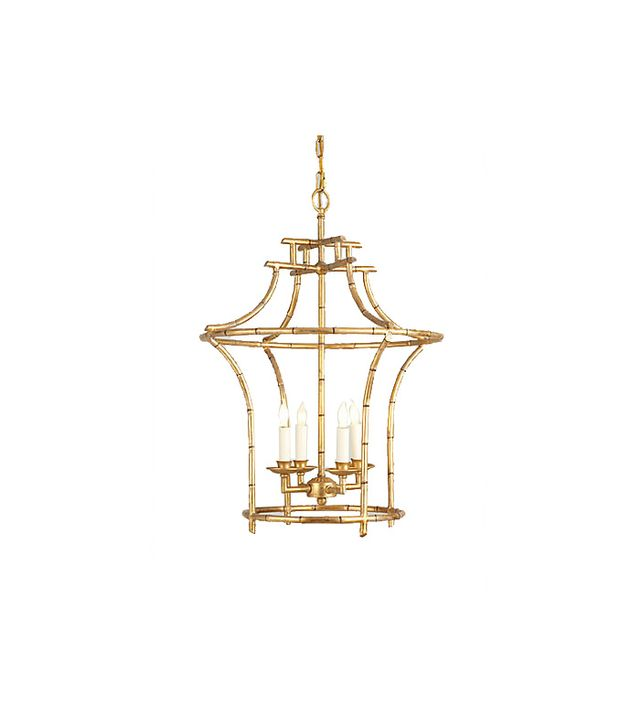 Chelsea House Bamboo 4 Light Mini Chandelier