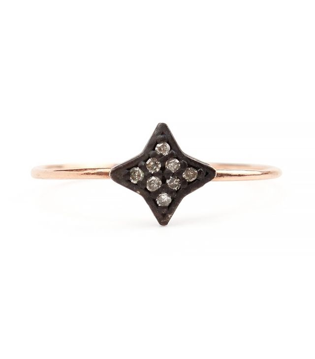 Catbird Jewellery Dark & Stormy Star Ring