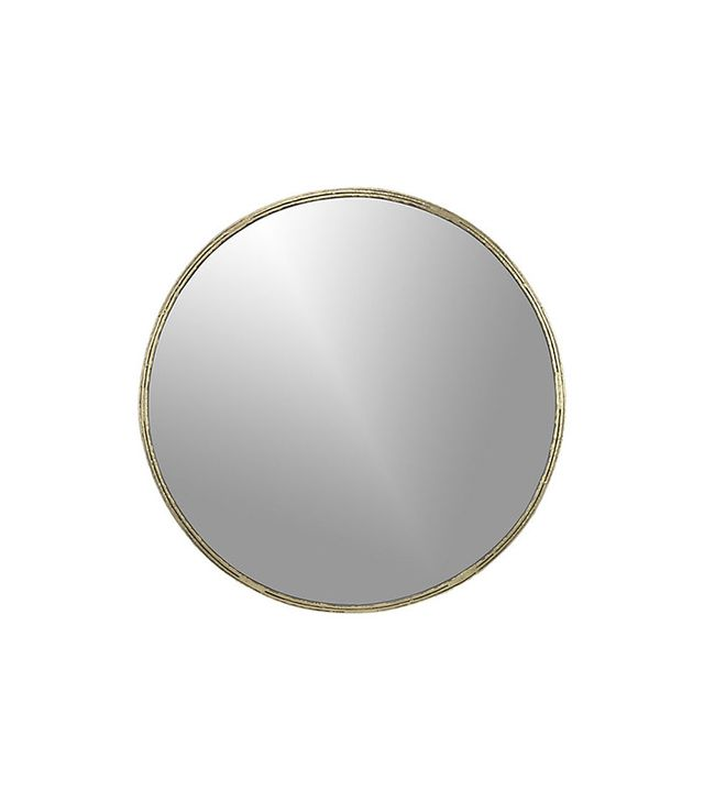 CB2 Tork Brass Mirror