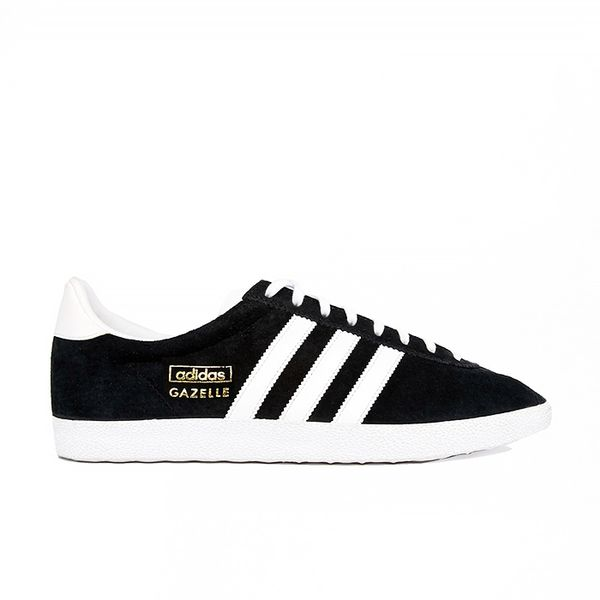 Adidas Originals Gazelle OG Black & White Sneakers