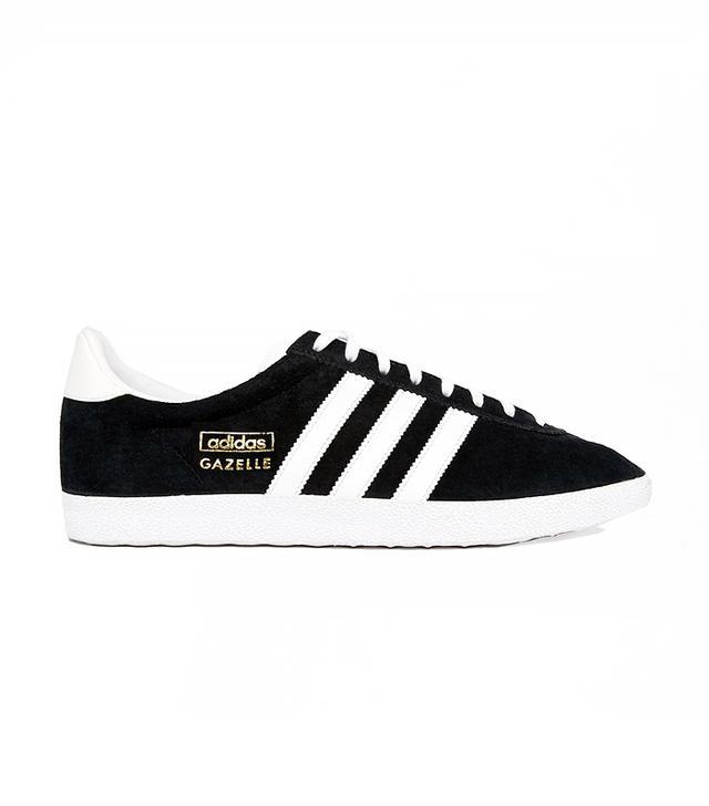 Adidas Originals Gazelle OG Black & White Sneakers
