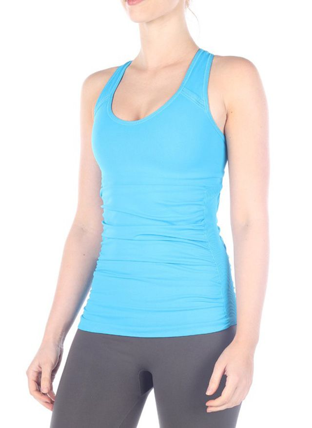 NUX Tava Rouched Tank Top