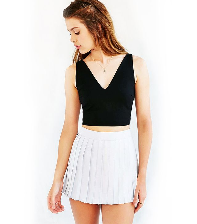 Silence + Noise Shay Cropped Tank Top