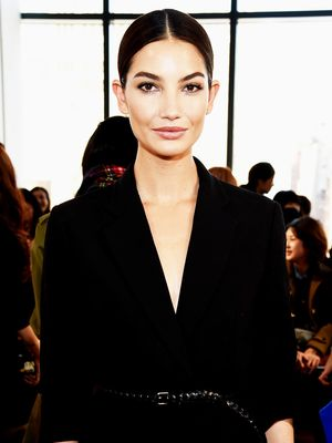 Now This Is How to Wear All White! Nicely Done, Lily Aldridge