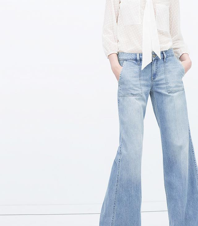 Zara Square Pocket Jeans