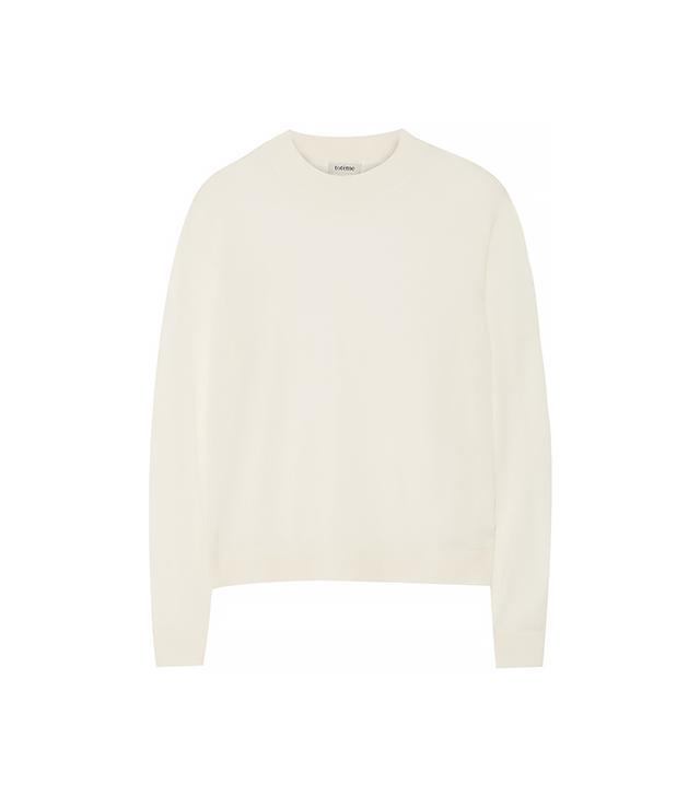 Totême Fine-Knit Jersey Sweater