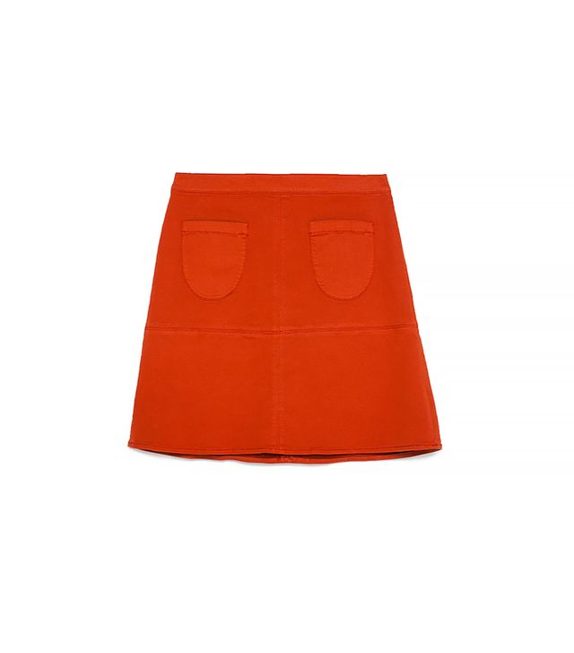 Zara Skirt with Front Pockets