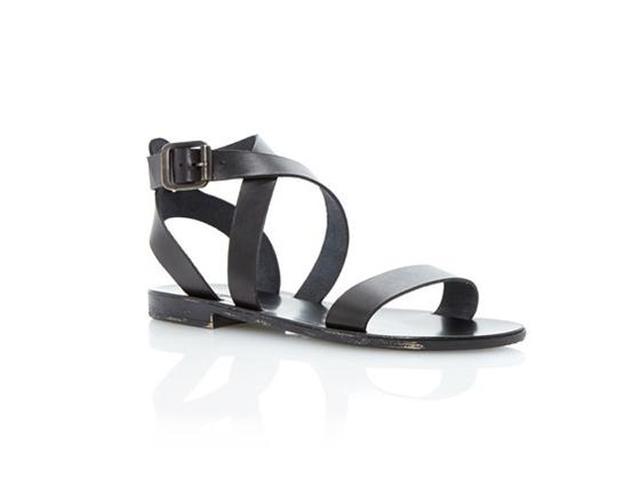 Dune London Lotti Leather Sandals