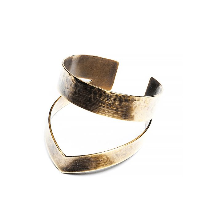 Lila Rice Crown Cuff