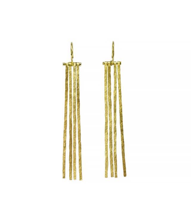 Sophie Hughes 18K Recycled Gold Fringe Earrings