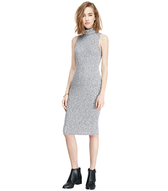 Forever 21 Marled Midi Turtleneck Dress