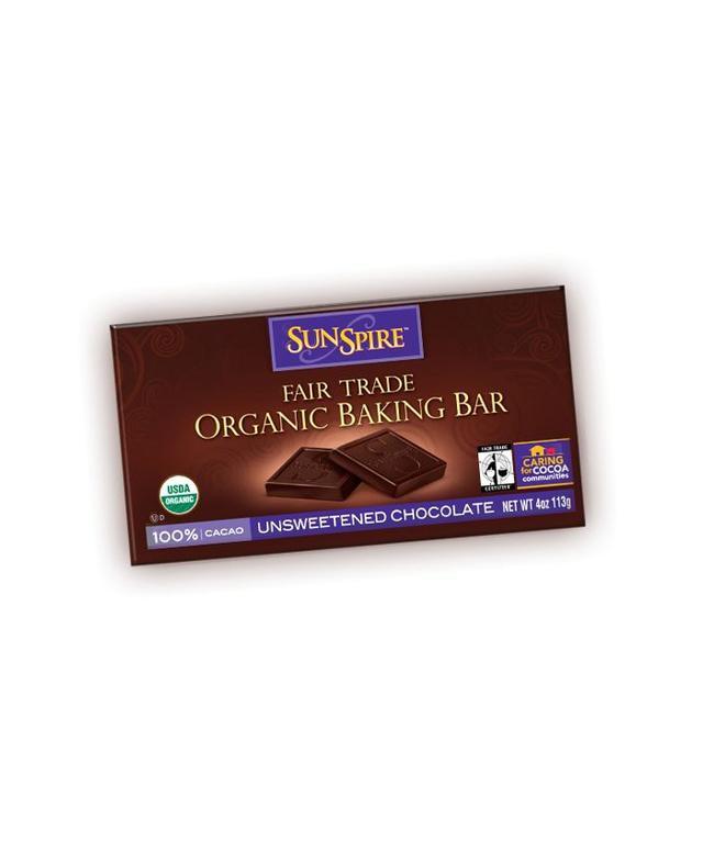SunSpire Organic Unsweetened Baking Bar