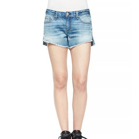 The Cutoff Mid-Rise Denim Shorts, Chesapeake