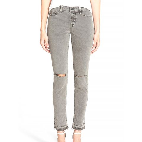 Mid-Rise Skinny Jeans, Jungle