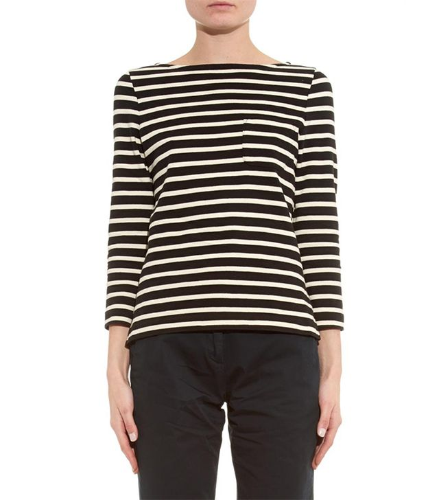 YMC YMC Striped Cotton-Jersey T-Shirt