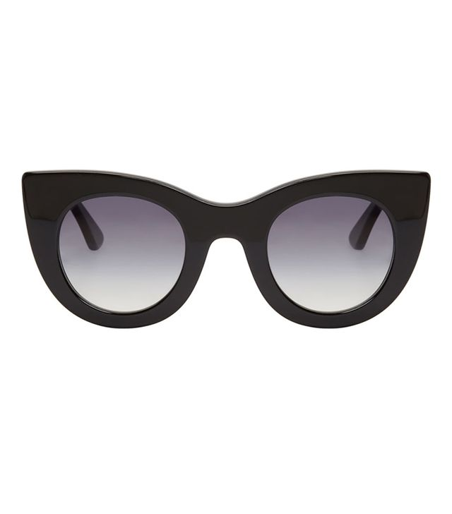 Thierry Lasry Black Cateye Orgasmy Sunglasses