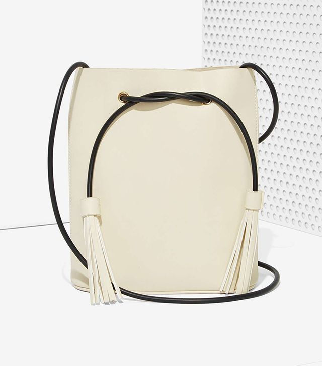 Nasty Gal Paradigm Vegan Leather Bucket Bag