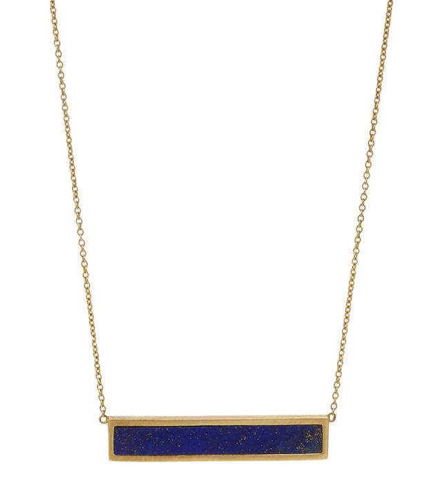 Jennifer Meyer Bar Pendant Necklace