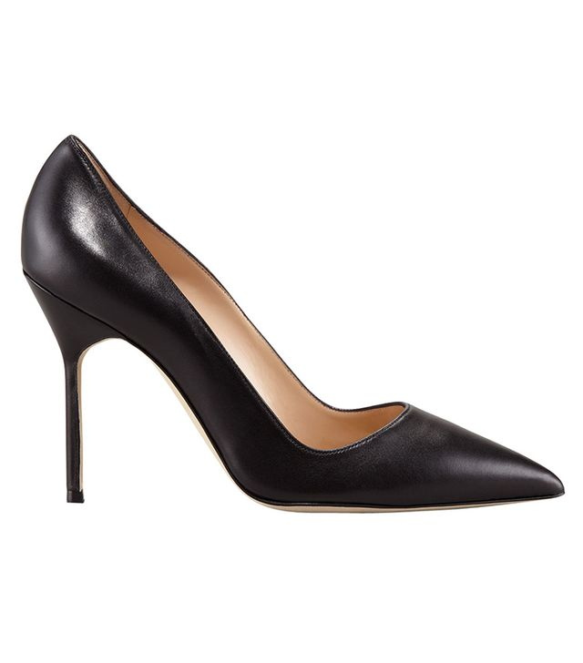 Manolo Blahnik BB Pointed Toe Pumps