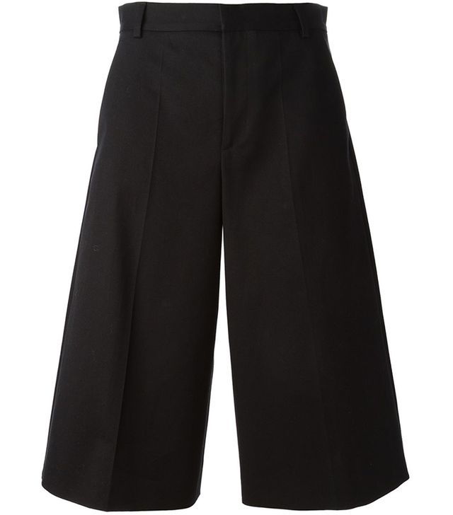 Red Valentino Wide Leg Culottes