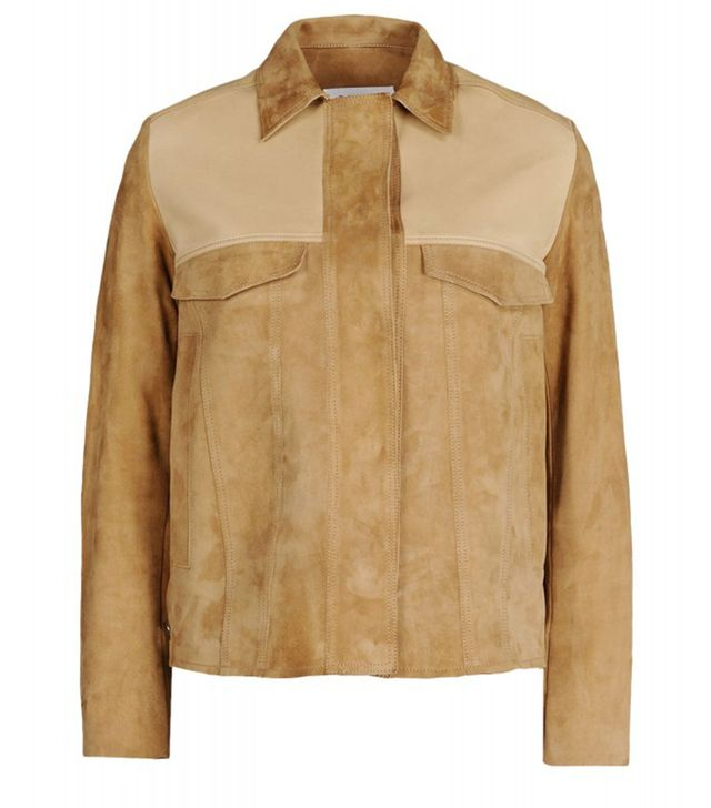 MM6 Maison Margiela Suede Jacket