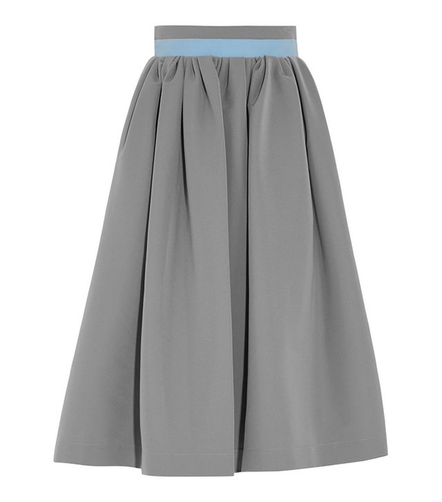 Preen by Thornton Bregazzi Stretch-Crepe Skirt