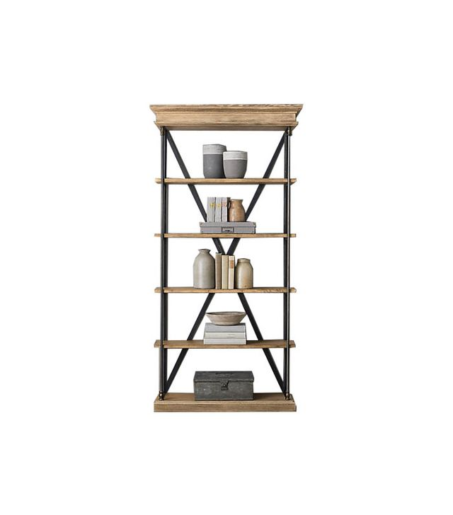 Restoration Hardware Parisian Cornice Single Shelving