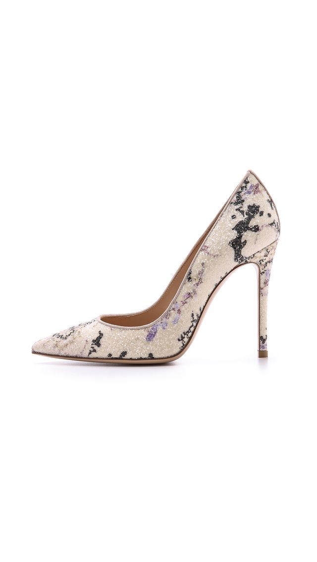 Mary Katrantzou Mary Katrantzou x Gianvito Rossi Floral Pumps