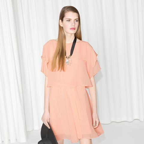 Layered Chiffon Dress