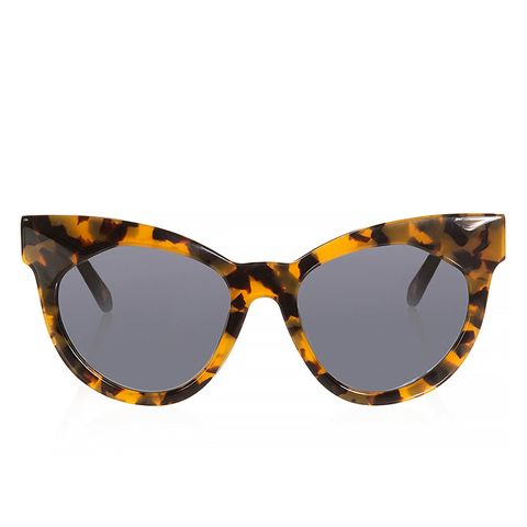 Starburst Cat-Eye Sunglasses
