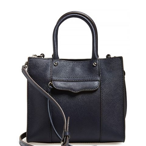 'Mini MAB Tote' Crossbody Bag, Midnight