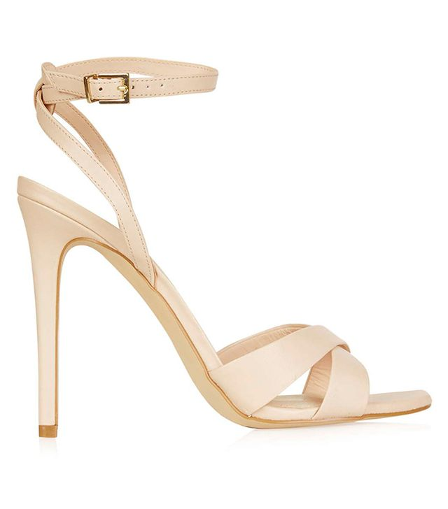 Topshop Rumour Cross-Strap Sandals