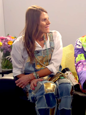 Suzy Menkes Puts Anna Dello Russo on the Spot With This Question