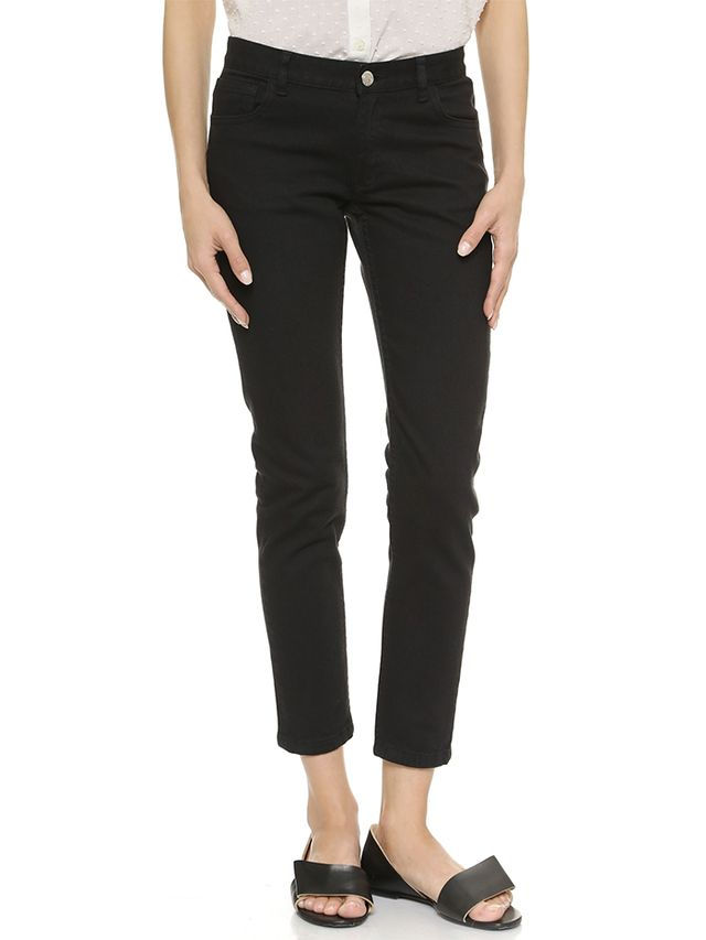 A.P.C. Jean Etroit Court Ankle Skinny Jeans