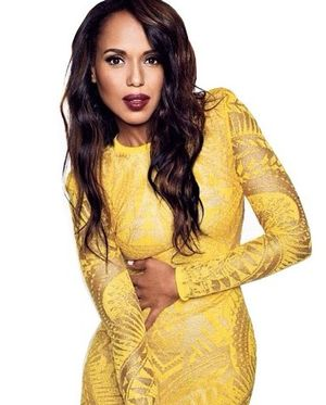 First Look: Kerry Washington's Bright And Beautiful  Glamour UK Cover